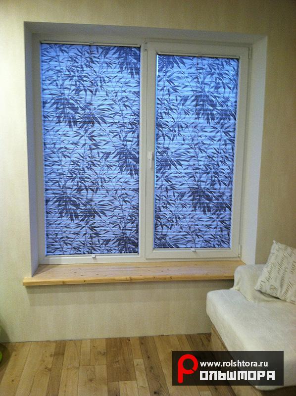 Наши работы - Шторы плиссе на окна